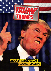 Image for Launching on Kickstarter today: Trump Trumps!